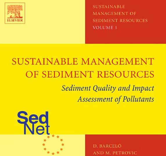 SedNet WP books Vol 1-4 (Sediment Management of Sediment Resources). Details at Elsevier